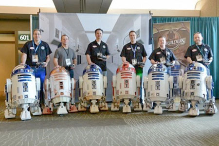R2 Builders Group at a convention