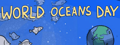 World Oceans Day banner by Chris Hsu