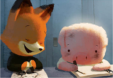Fox and Pig