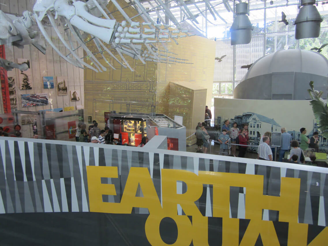 Earthquake: Life on a Changing Planet exhibition