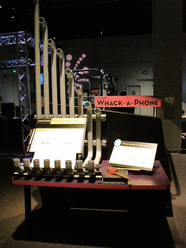 Whack-A-Phone interactive exhibit