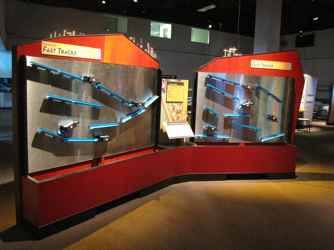 Fast Tracks interactive exhibit