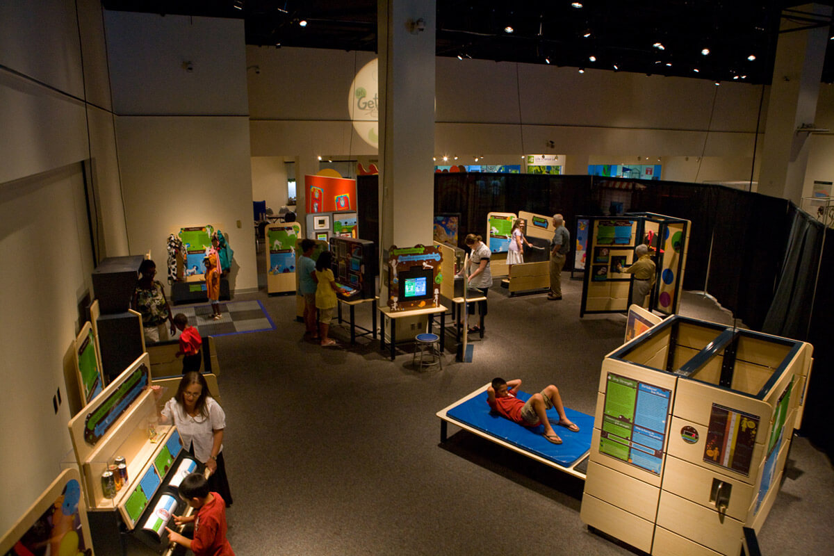'Eat Well, Play Well' exhibit overview