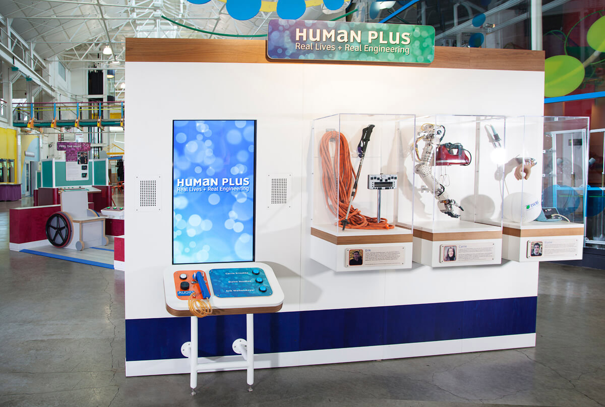 Human Plus exhibit welcome
