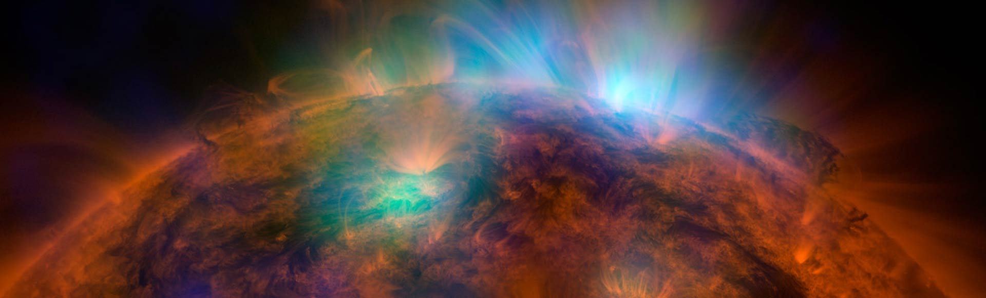 Close-up of the Sun