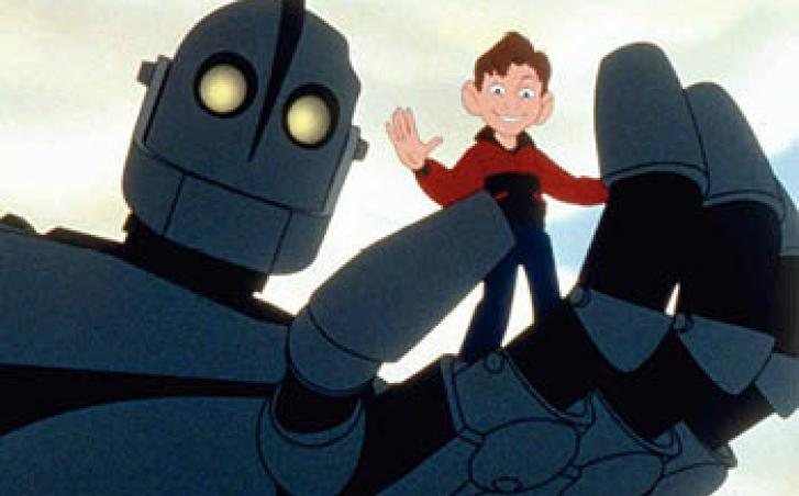 Iron Giant movie scene