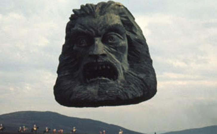 Zardoz movie scene