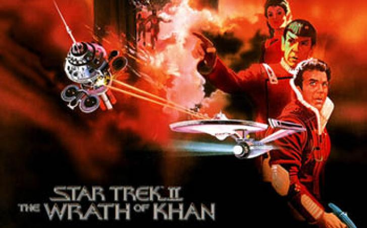 Star Trek II Wrath of Khan movie poster