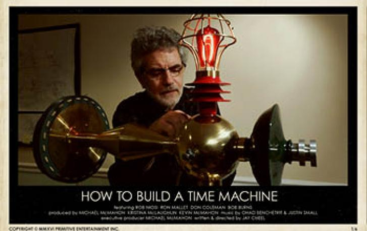 How to Build a Time Machine movie scene