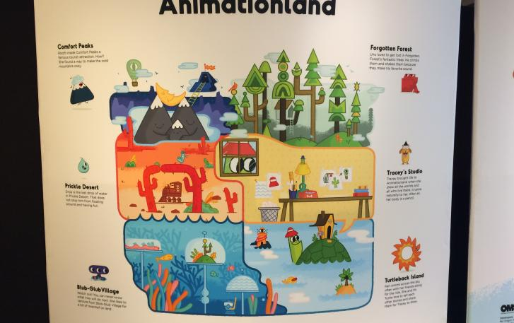 So much to explore in Animationland!