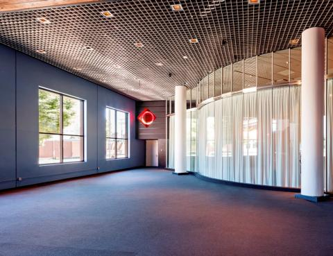 Empirical Theater lobby