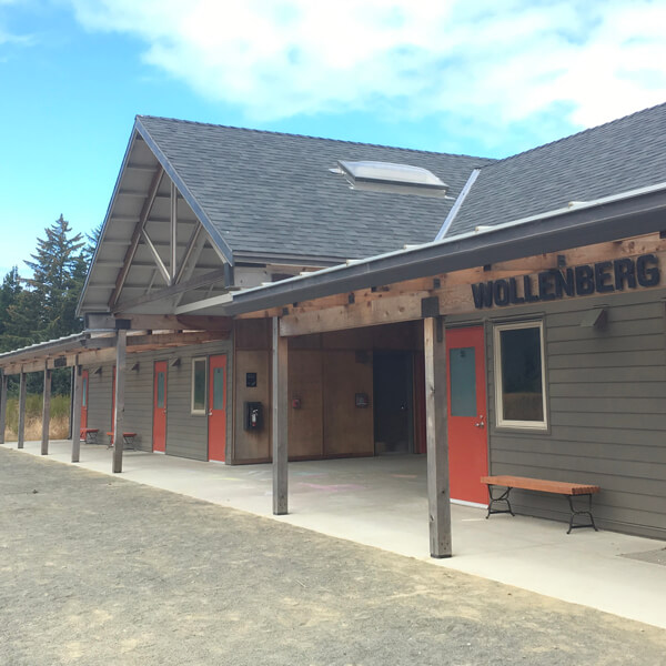 Coastal Discovery Center Camp Gray in Newport, Oregon